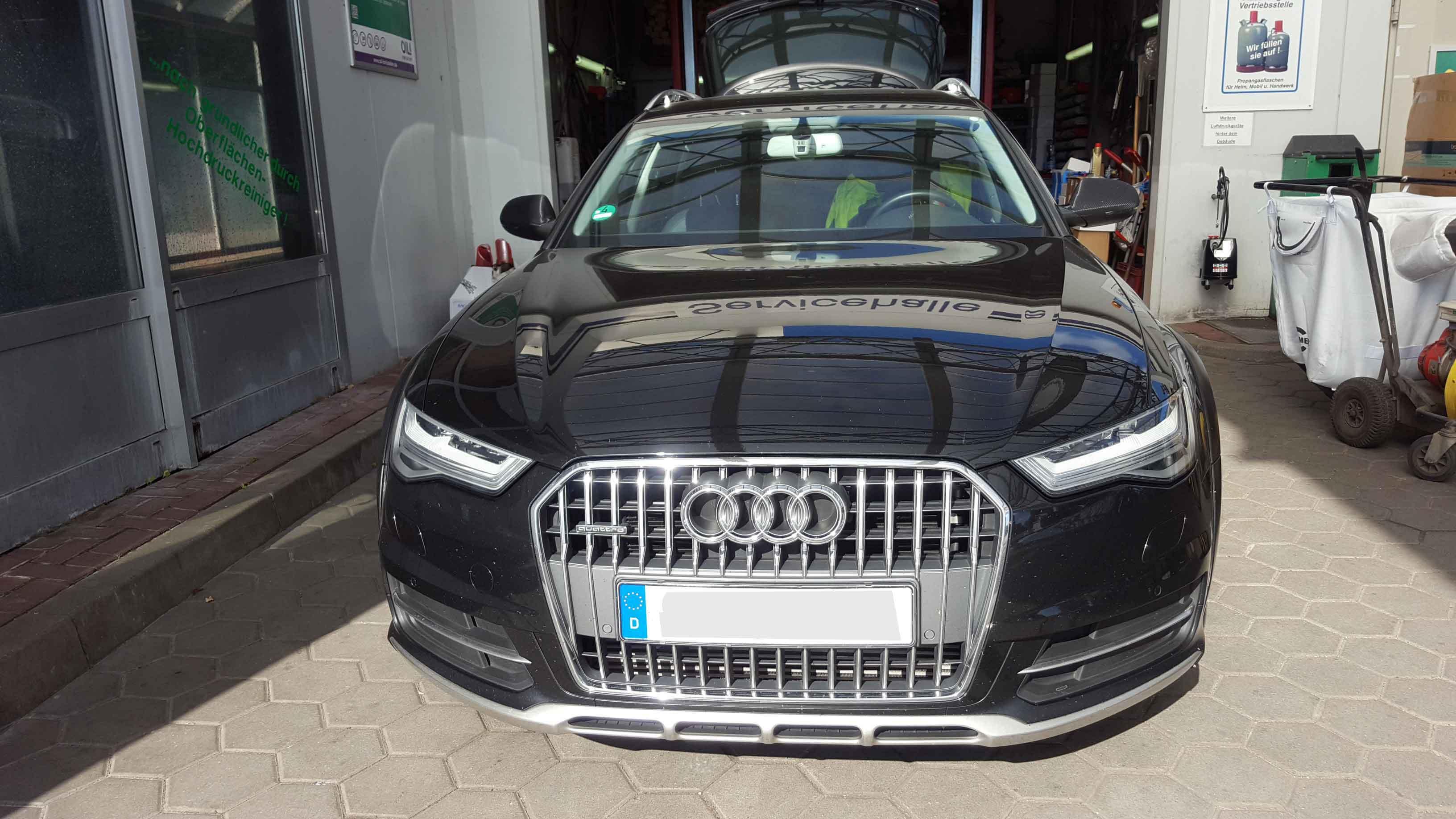 Audi A6 4g Allroad Facelift Active Sound Retrofitting New Muffler And Encodings Cete Automotive Gmbh