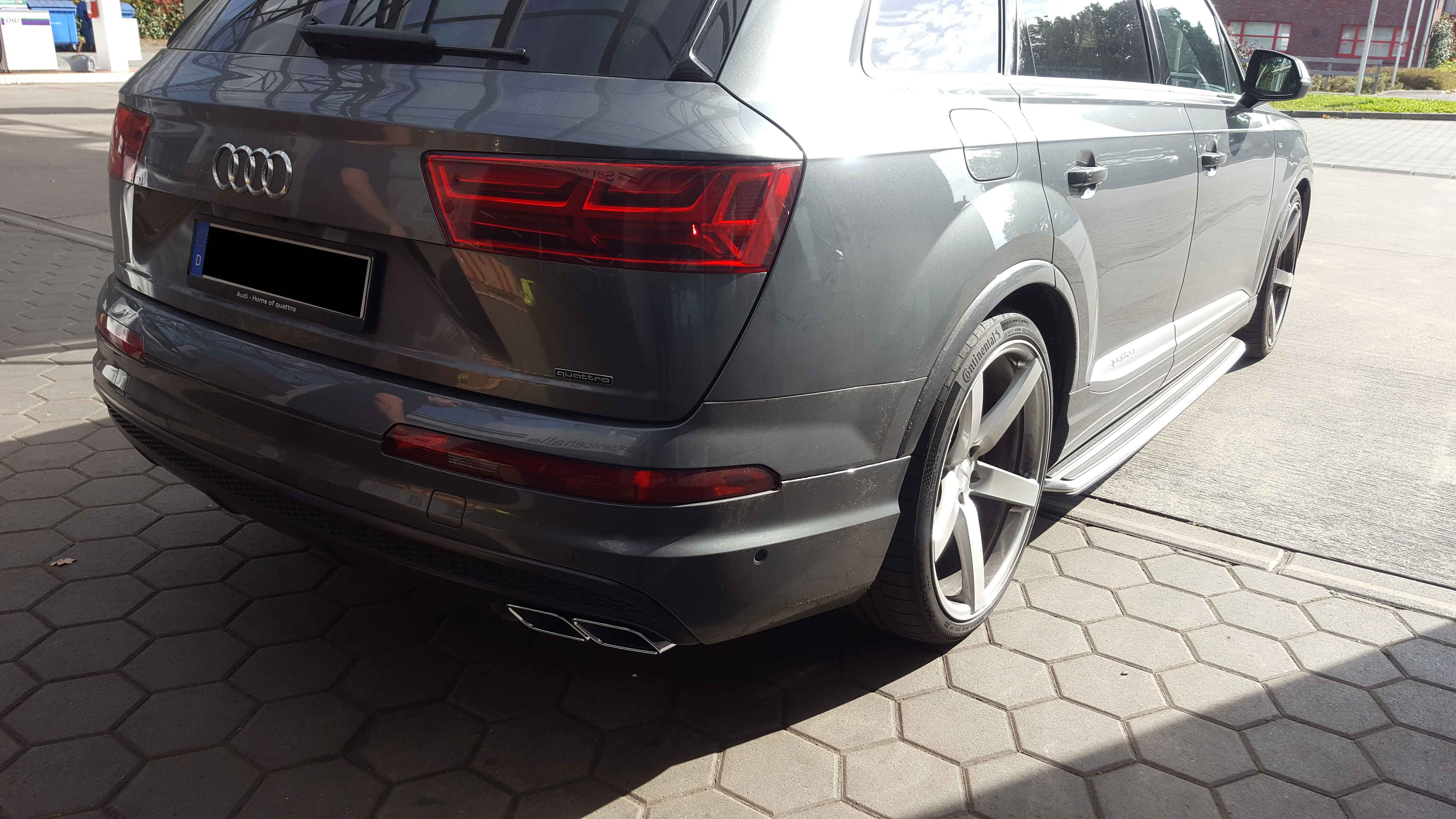 Audi Q7 4M - SQ7 remodeling - Active Sound retrofitting and