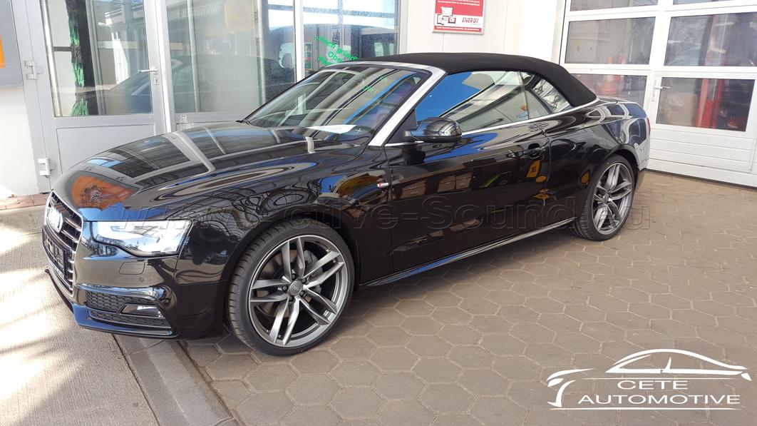 Audi A5 8F 3 0 TDI ADD-Blue - Active Sound retrofitting
