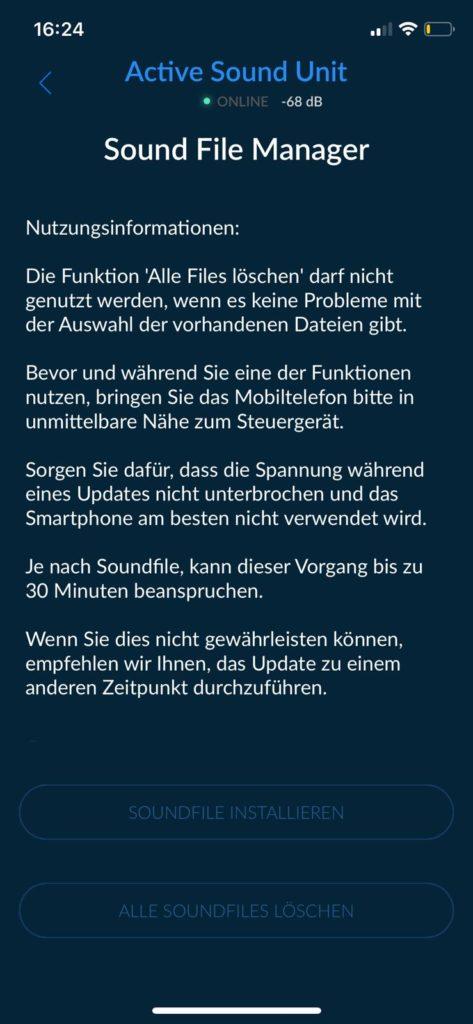 Active Sound App - Cete Automotive GmbH