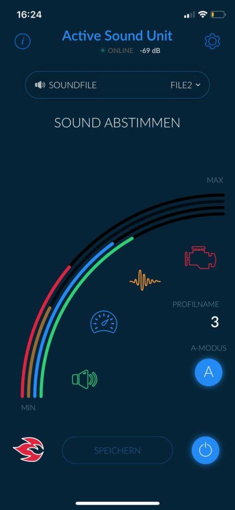 active sound app cete automotive gmbh. Black Bedroom Furniture Sets. Home Design Ideas
